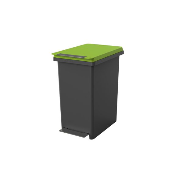 Fitis Compact X 20L Garbage Bin - Green Cover