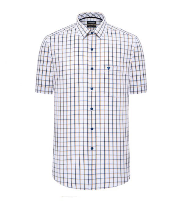 Caro Shirt - Men Shirt - Short-sleeved Shirt - 8N0242NT4 - S4P