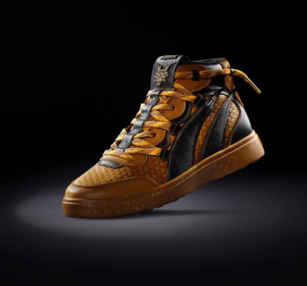 Biti's Hunter Street x VietMax | Arising Vietnam R3 Gold Men's Sneakers