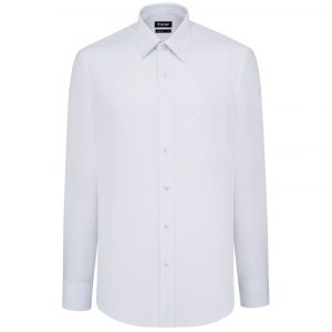 White Shirt - Men Shirt - Long Hand Shirt 1N2273BT5 - L7V