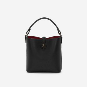 Elegant Tote Bag Vascara Mini Logo - TOT 0074 - Black