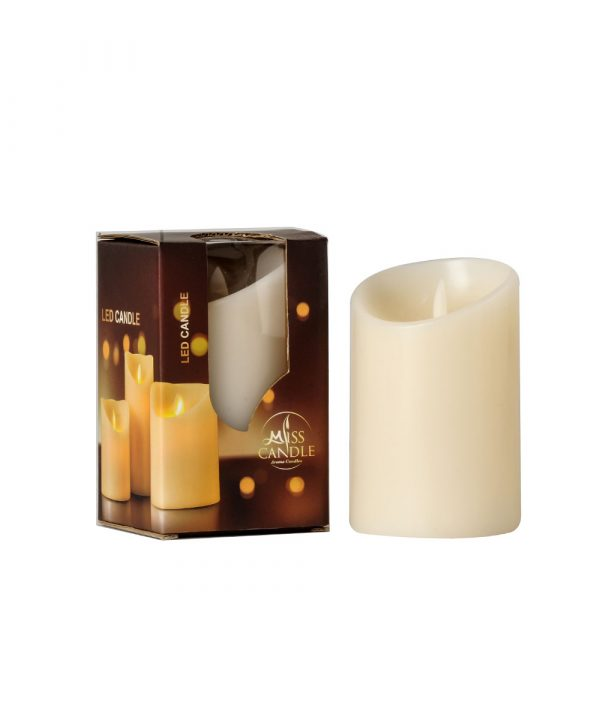 Pillar Candle D7.5H10 LED-Electronic Candle-Home Decoration