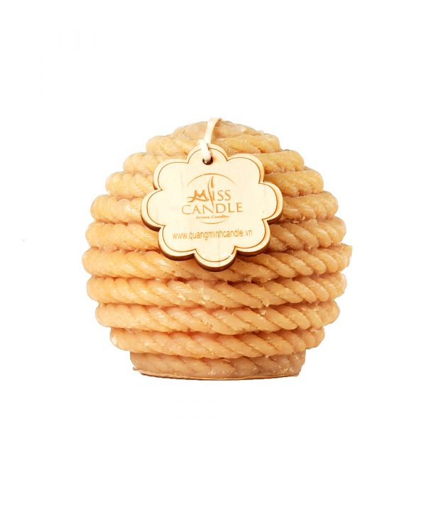 Pillar Candle-Rope Ball Candle-D10