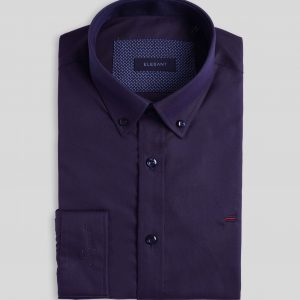 Purple Shirt - Men Shirt - Long Sleeve SMD.1115