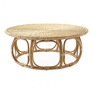 Round Coffee Table-Rattan Table-Furniture
