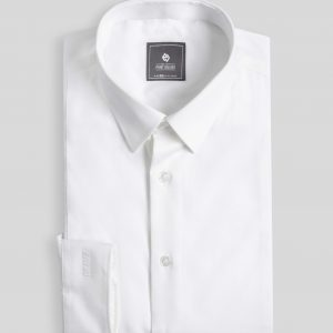 White Shirt - Men Shirt - Long Sleeve SMD.1041