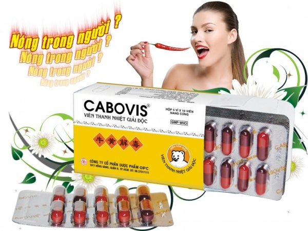 CABOVIS - Detoxification Tablets - Box Of 5 Blisters x 10 Tablets.