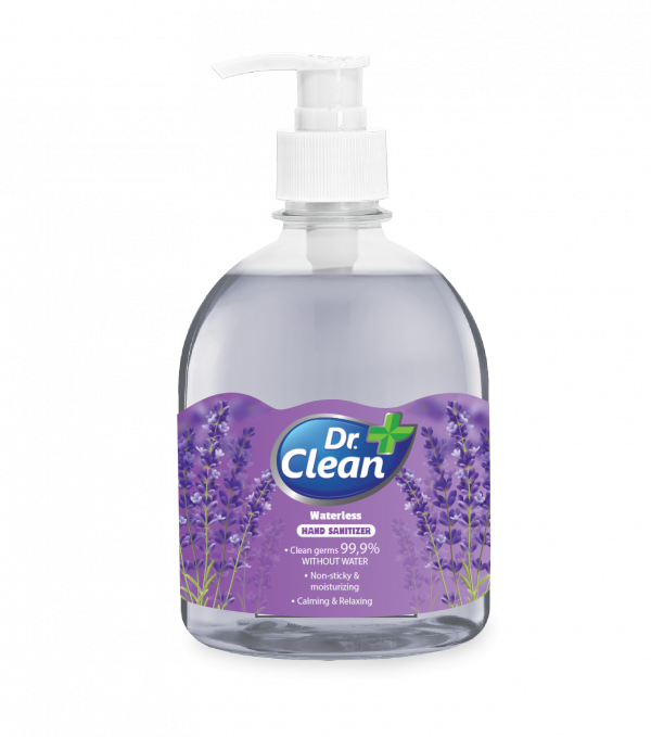 Hand sanitizer gel does not use water Dr. Clean - Lavender