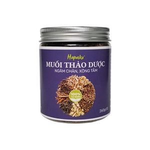 Herbal Foot Soak Salt Relieves Aches and Pains, Exfoliates Dead Skin, Reduces Foot Sweat, Relieves Numbness Of Feet - Himalaya Mineral