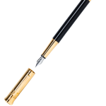 Gemperor - Laos Wood Fountain Pen - 24K Gold Plated