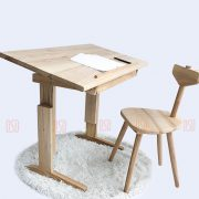 Wooden Table Against Humpback & Against Myopia - Kid Furnitures